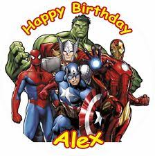 marvel cake toppers marvel cake toppers ebay