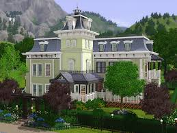 empire house the sims 3 game assets on behance