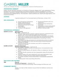 pharmacy resume exles awesome collection of sle pharmacist cv insrenterprises