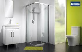 what s new in november dias aluminium series 9300 corner entry framed sliding shower screen
