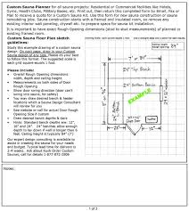 Backyard Sauna Plans by Sauna Planning Free Sauna Plans And Layouts