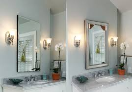 Bathroom Cabinets New Recessed Medicine Cabinets With Lights Blog Mirrormate Frames