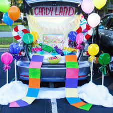 21clever trunk or treat decorating ideas candy land super easy