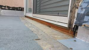 Patio Door Sill Pan Waterproofing Sliding Doors And Entry Doors Wicr Waterproofing