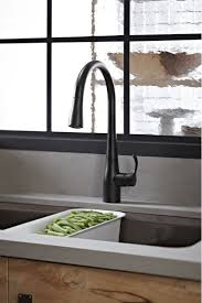 matte black kitchen faucet faucet k 596 bl in matte black by kohler
