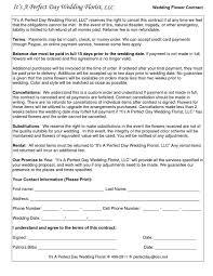 download wedding flower contract wedding corners