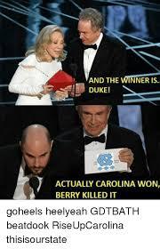 Duke Memes - and the winner is duke actually carolina won berry killed it
