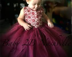 maroon dresses for wedding flower dresses baby and toddler