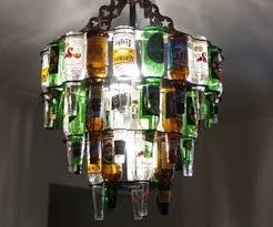 Lamps Made From Bottles Bottle Chandelier