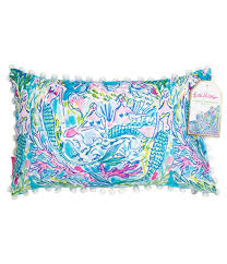 Lilly Pulitzer by Lilly Pulitzer Mermaid Canvas Indoor Outdoor Pillow Dillards