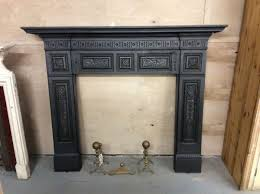impressive victorian cast iron fire surround authentic reclamation