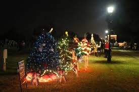 foley begins celebrations with beautiful lights and a flurry of