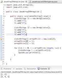 Java Map Example Java Array Of Arraylist Arraylist Of Array Journaldev