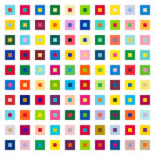 100 combinations of 2 color from pantone color library
