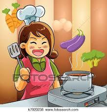 maman cuisine clipart maman amour cuisine k7920238 recherchez des cliparts