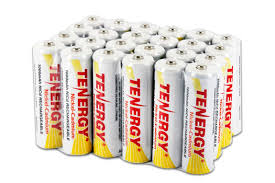 rechargeable aa batteries for solar lights 24pc tenergy aa nicd rechargeable batteries solar garden lights