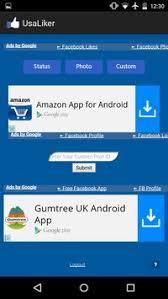 fb app android fb auto liker get fb likes apk free social app for