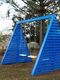 how make stylish outdoor pallet seating hgtv how build modern frame swing set