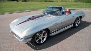 corvette restomods for sale 1965 chevrolet corvette resto mod s165 chicago 2014