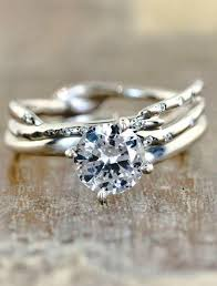 non traditional wedding rings 14 non traditional engagement rings we say yes to 2469027
