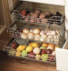 Kitchen Cabinet Pull Out Baskets 104 Best Kitchen Essentials Storage Solutions Images On Pinterest
