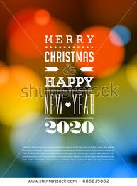 merry christmas happy new year card stock vector 115288603