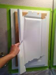 Replacement Laminate Kitchen Cabinet Doors What Is The Best Way To Use Appliance Paint On Laminated Kitchen