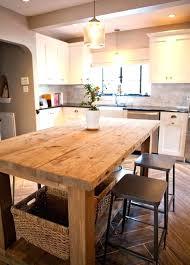 kitchen island farm table farmhouse kitchen island size of kitchen rustic farmhouse