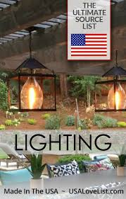 American Made Chandeliers American Made Lighting The Ultimate Source List Usa Love List