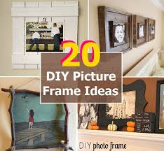 framing ideas 20 inexpensive diy picture frame ideas diy home things
