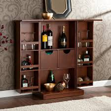 Compact Bar Cabinet Furniture Mini Bar Cabinet Design Ideas Home Design With Brown