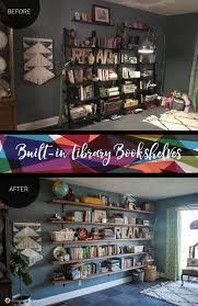 dawn u0027s house diy library shelving u2022 ad aesthetic