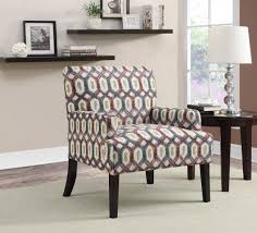 Printed Accent Chair 902620 Accent Chair Set Of 2 In Printed Fabric By Coaster