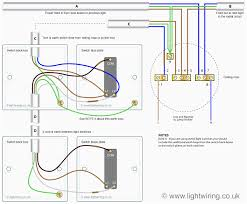 wiring diagram double light switch ansis me
