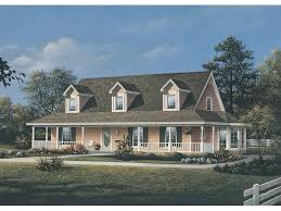 Wrap Around Porch House Plans Traditional Cape Cod House Plans