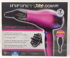 Infiniti Pro Hair Dryer conair infiniti ac motor pro hair dryer styler diffuser concentrator