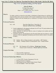 Teaching Job Resume Format by Resume Samples For Teachers Free Resume Example And Writing Download