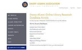 of alumni search emory alumni