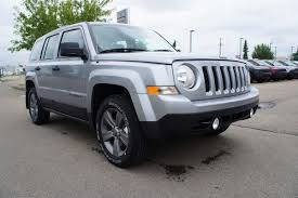 jeep patriot 2017 silver jeep patriot for sale in edmonton alberta