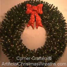 6 foot prelit wreath artificialchristmaswreaths