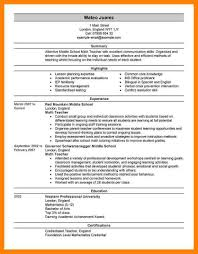 Bilingual Teacher Resume Samples by 6 How To Make Cv For Teaching Job Daily Log Sheet
