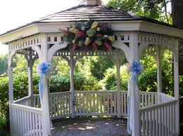 Pergola Wedding Decorations by Outdoor Weddings Wedding Gazebo Decorating Ideas Outdoor Wedding