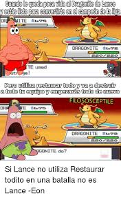 Dragonite Meme - 25 best memes about lance dragonite lance dragonite memes