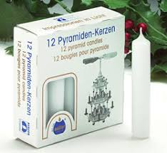 carousel pyramid candles 5 8 inch candles