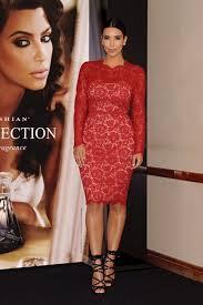 kim kardashian lace pro dresses full sleeves back zipper knee