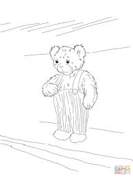 corduroy bear coloring page free printable coloring pages