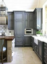 Oak Cabinets Kitchen Ideas Honey Oak Cabinets With Stainless Steel Appliances Gray Walls