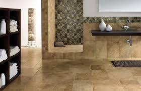 gorgeous ceramic or porcelain tile for bathroom floor 2017