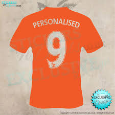 personalised football shirt with number wall art wall decal car personalised football shirt any name any number vinyl wall art vinyl wall decal wall decor