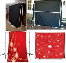make your own photography backdrop stand use a standard garment